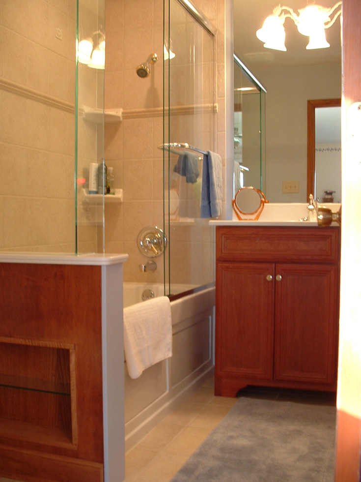 Cooper Construction And Glass Installation Repair Remodel - Bathroom remodeling geneva il